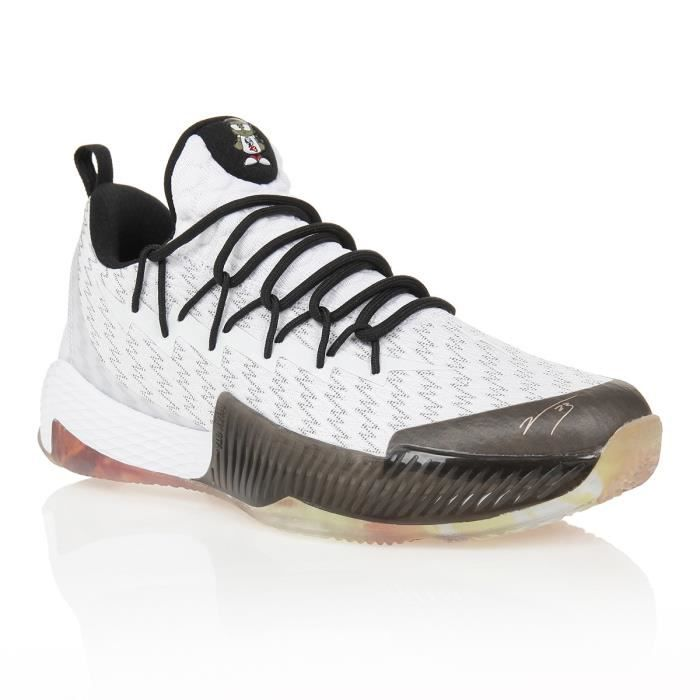 PEAK Chaussures de basketball Lou Williams 2 - Homme - Blanc