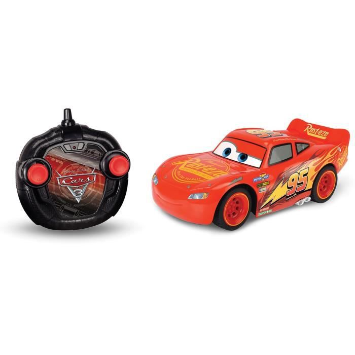 SMOBY Voiture Radiocommandée Flash Mc Queen Cars 3 échelle 1/24