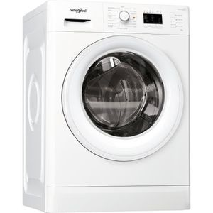 WHIRLPOOL FWL71452WFR - Lave linge frontal - 7 kg - 1400 tours / min - A++ - Blanc - FreshCare+
