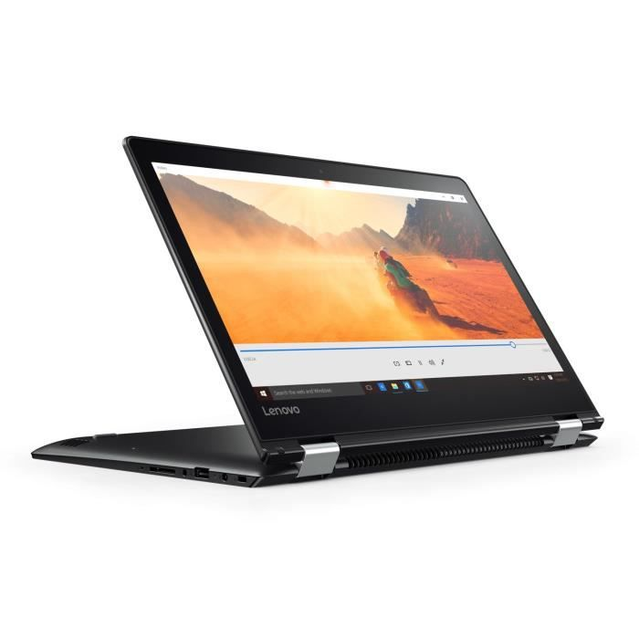 Lenovo pc portable convertible yoga 510 14ikb 14 fhd ram 8go core i7 7500 stockage 256go ssd intel hd graphics win 10
