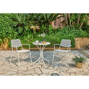 Ensemble tables et chaises MTC002MCA117WHI