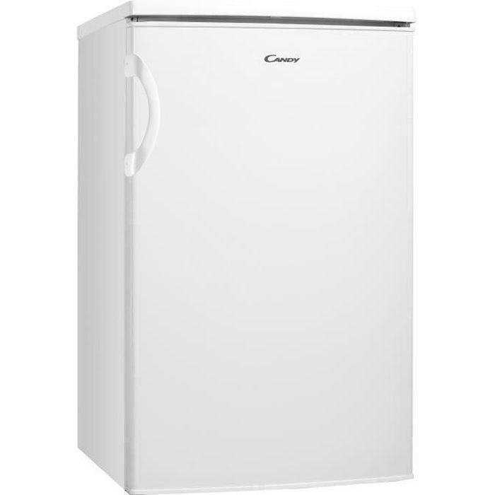 CANDY CCTOS 502WHN - Refrigérateur Table Top - 97L (83L + 14L) - A+ - 50cm x 84 cm - Blanc