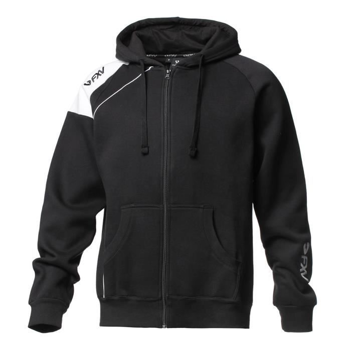 FORCE XV Veste Hoody Zip Molleton Zowi - Noir