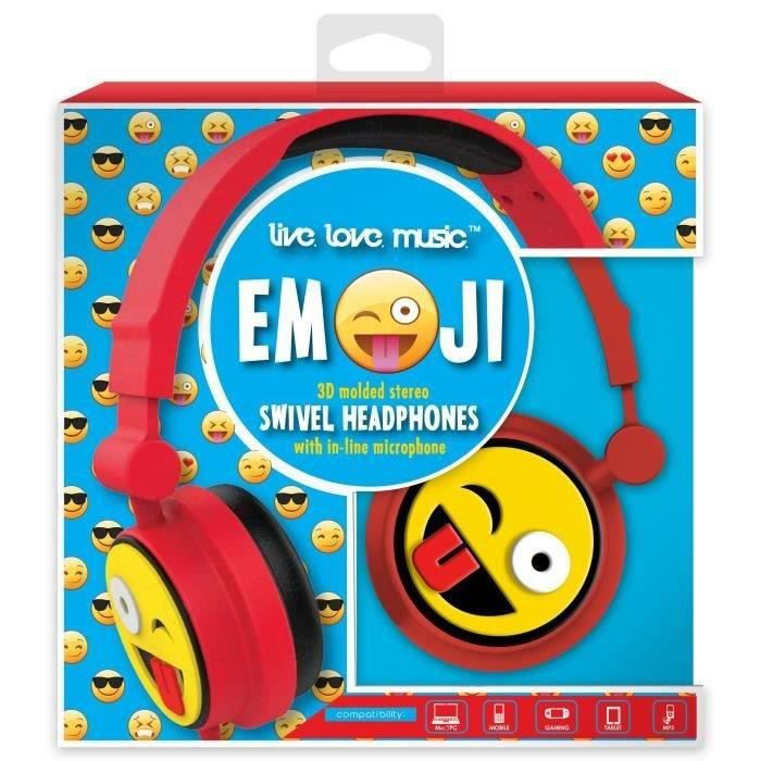 DGL TOYS casque audio enfant audio Emoticon Clin d'Œil