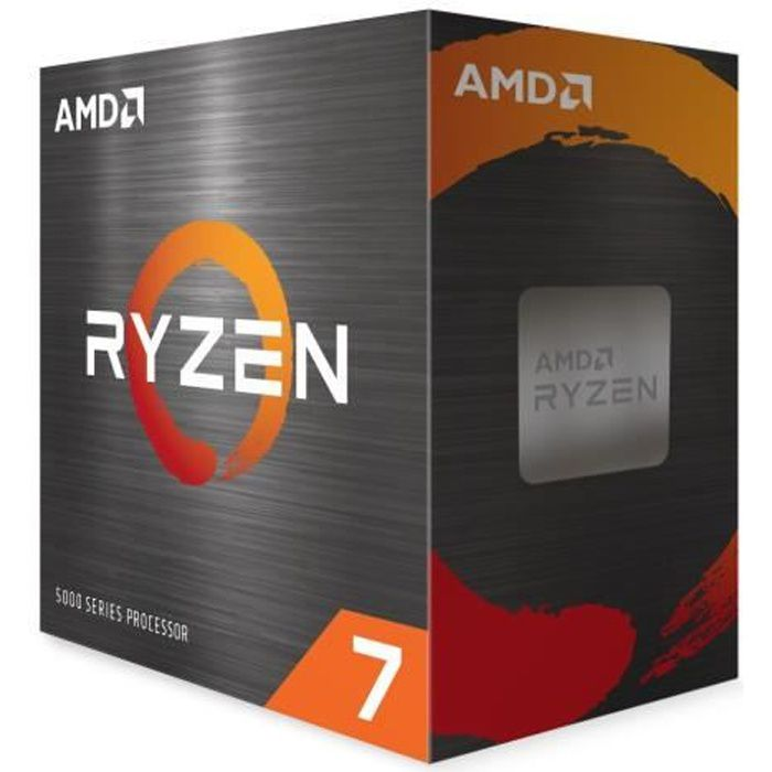 Processeur AMD RYZEN 7 5800X - AM4 - 4,70 GHz - 8 cœurs