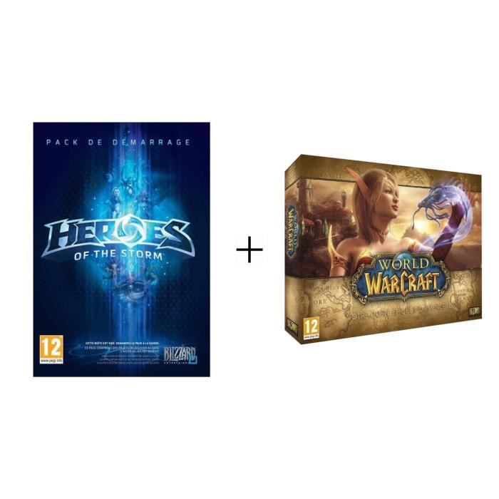 Pack Jeux PC HerŒs Of The Storm + World Of Warcraft 5.0