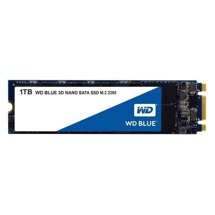WD Blue™ - Disque SSD Interne - 3D Nand - 1To - M.2 (WDS100T2B0B)