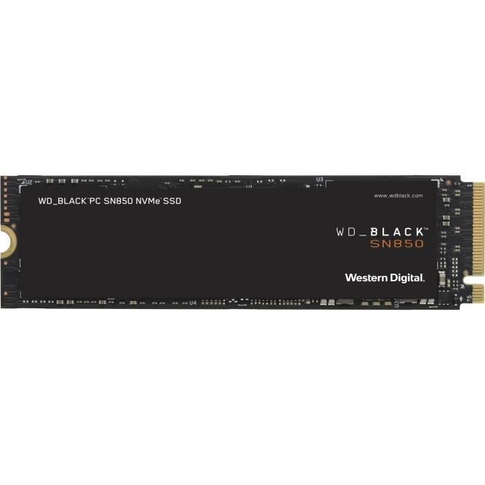 WD Black™ - Disque SSD Interne - SN850 - 1To - M.2 NVMe (WDS100T1X0E)