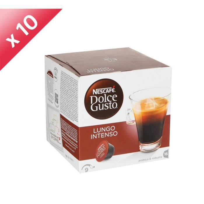 160 capules DOLCE GUSTO Lungo Intenso
