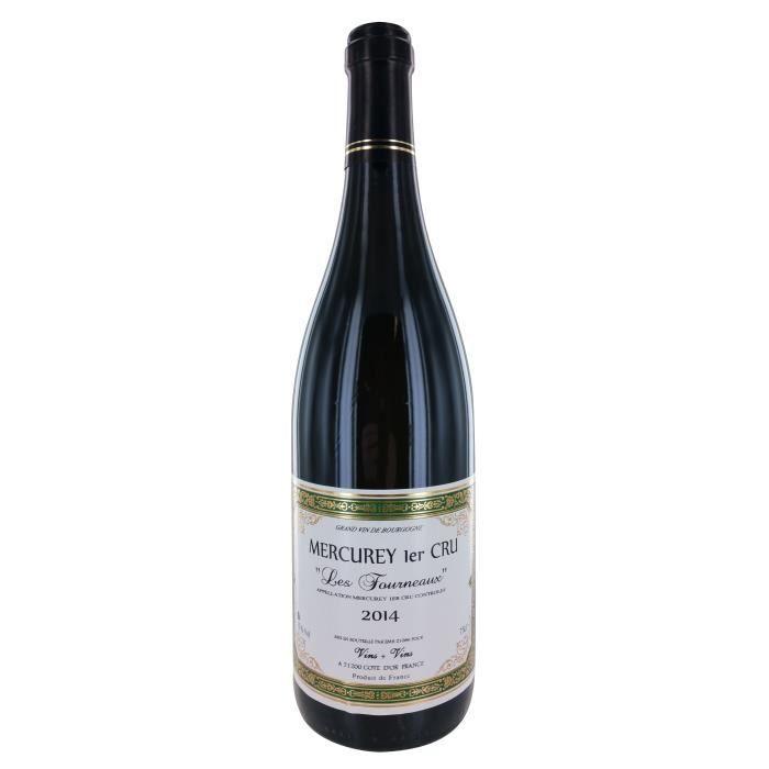 Les Fourneaux 2014 Mercurey 1er Cru - Vin blanc de Bourgogne
