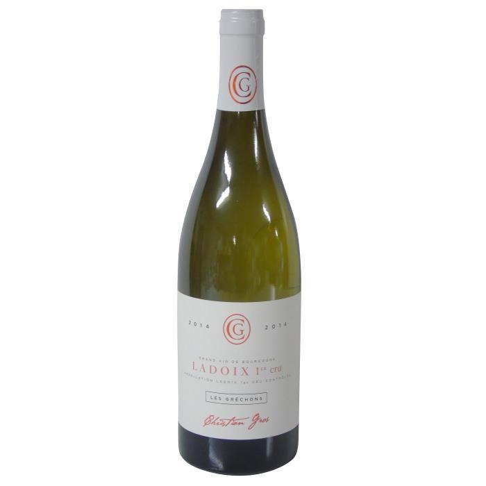 Domaine Christian Gros 2014 Ladoix 1er Cru Les Gréchons - Vin Blanc de Bourgogne