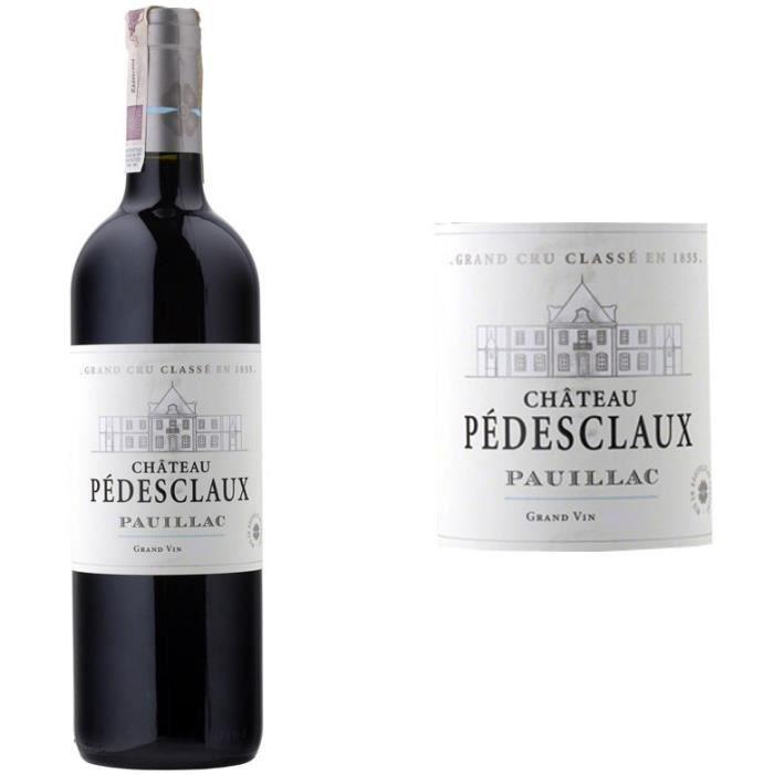 Château Pedesclaux 2014 Pauillac Grand Cru - Vin rouge de Bordeaux