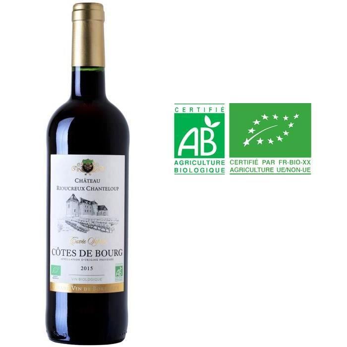 Château Roc Plantier 2016 Côtes de Bourg - Vin rouge du Bordelais - Bio