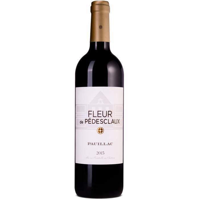 Fleur de Pedesclaux 2015 Pauillac Grand Cru - Vin rouge de Bordeaux