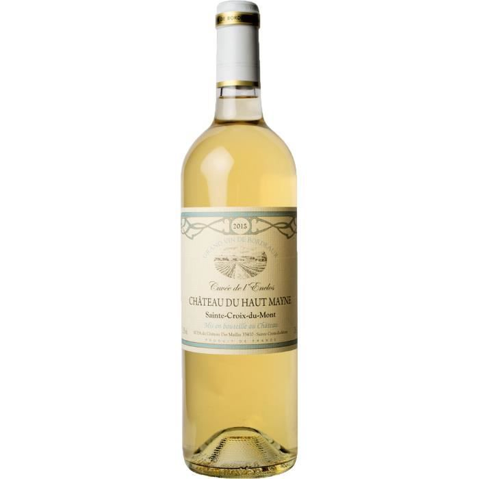 Château Haut Mayne 2015 Sainte Croix du Mont - Vin blanc de Bordeaux
