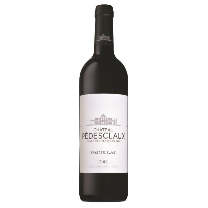 Château Pédesclaux 2016 Pauillac - Vin rouge de Bordeaux
