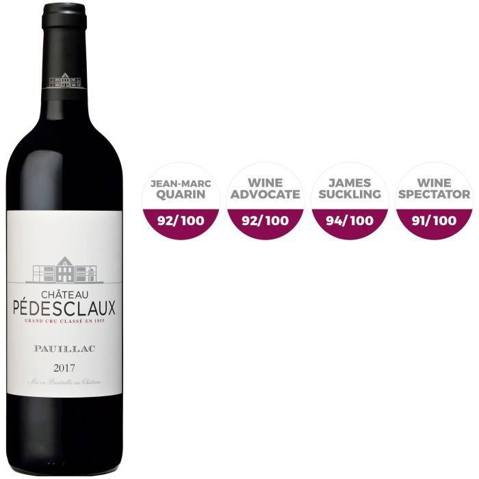 Château Pédesclaux 2017 Pauillac - Vin rouge de Bordeaux