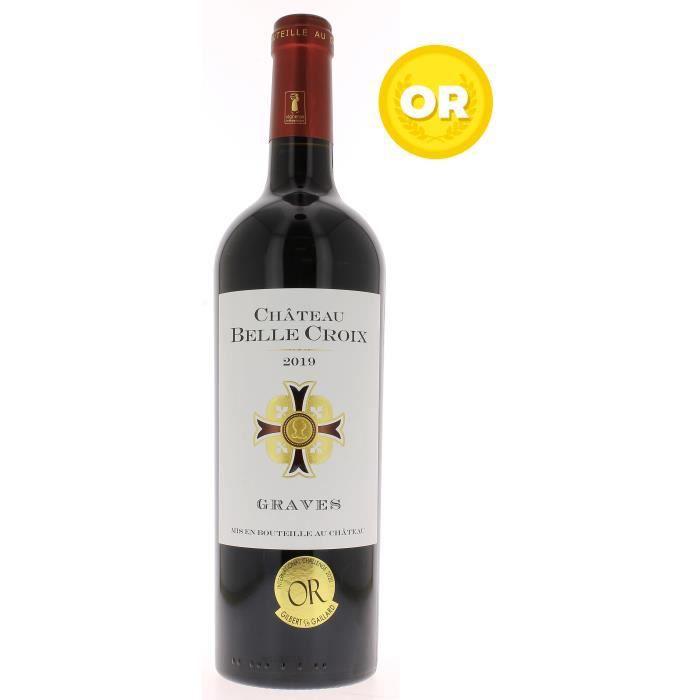 Château Belle Croix 2019 Graves - Vin rouge de Bordeaux