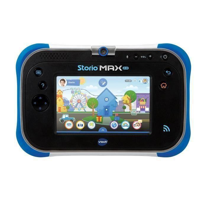 VTECH - Console Storio Max 2.0 5- Bleue - Tablette Éducative Enfant 5 Pouces