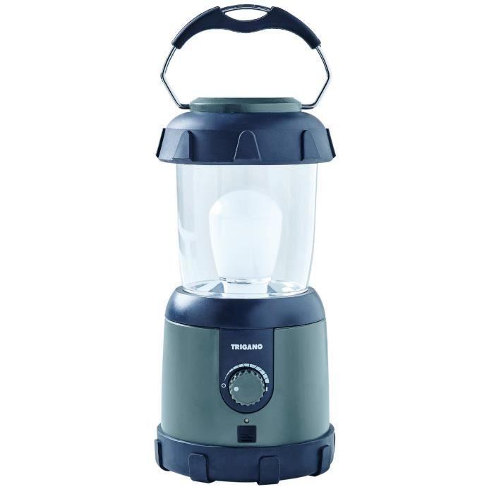 TRIGANO Lanterne LED rechargeable - VERT DE GRIS