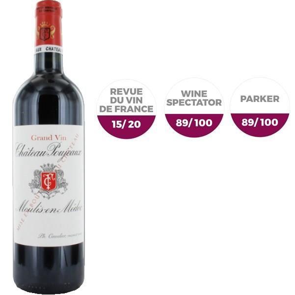 Château Poujeaux 1997 Moulis - Vin rouge de Bordeaux