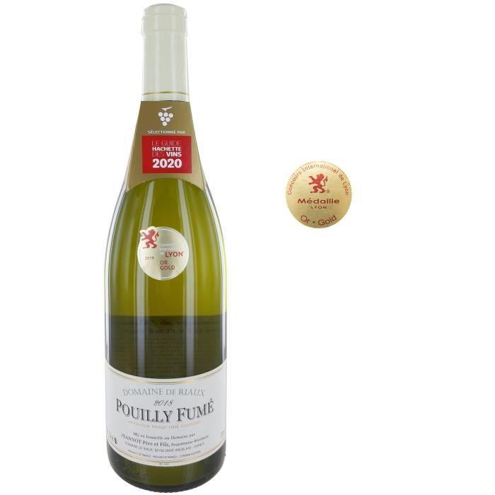 Domaine De Riaux 2018 Pouilly-Fumé - Vin blanc sec de Loire