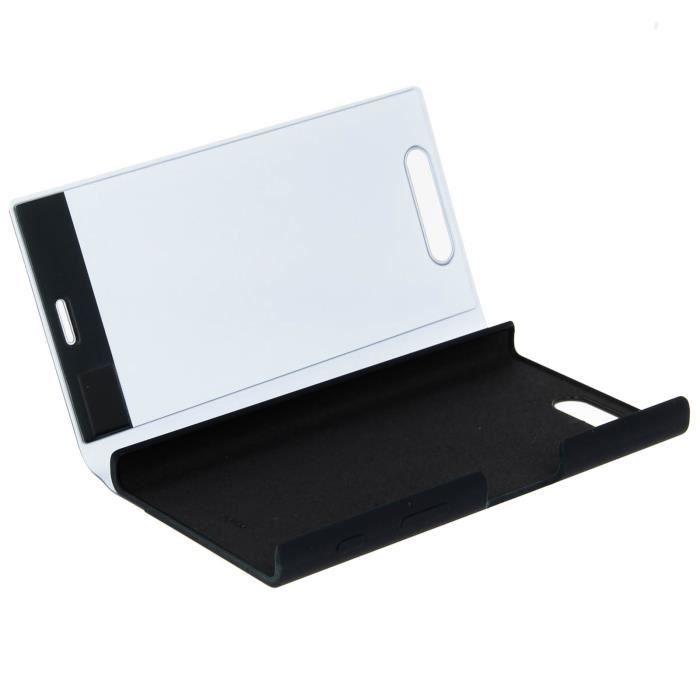 Étui folio Original Sony Touch Sensitive Cover pour Sony Xperia X Compact