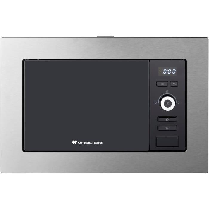 CONTINENTAL EDISON MO20IXEG Four Micro Ondes - 20 Litres - Grill - Encastable