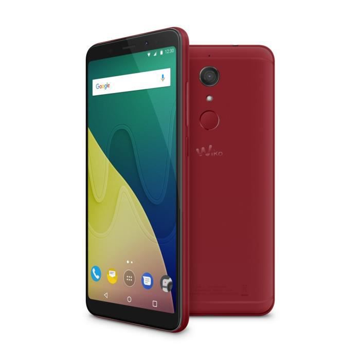 Wiko View XL Cherry Red