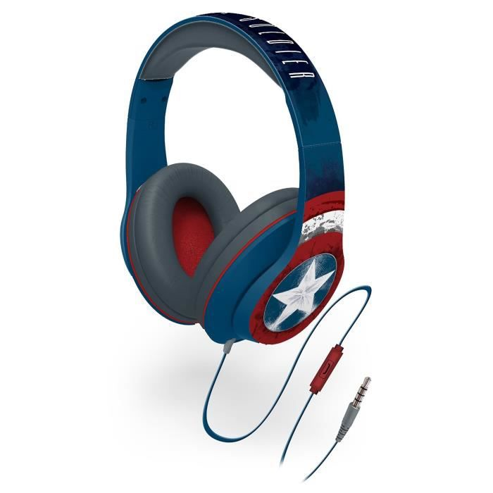 CAPTAIN AMERICA casque audio enfant Stéréo - Microphone intégré