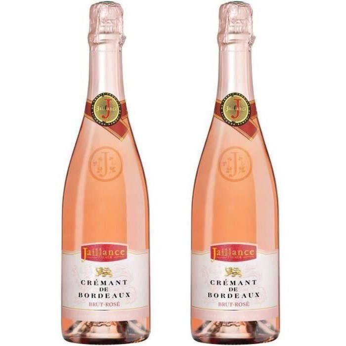 2ème à -50% - Jaillance Crémant de Bordeaux Rosé