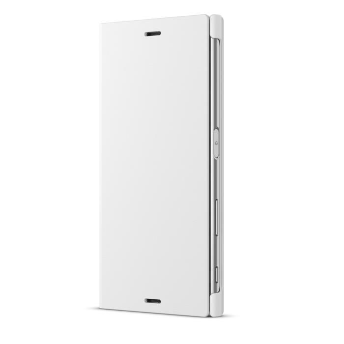 Sony Coque Stand pour Xperia XZ Blanc