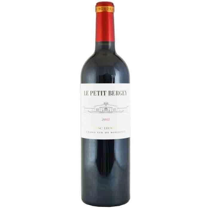 Le Petit Bergey Pessac 2012 Léognan - Vin rouge de Bordeaux