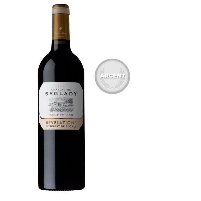 Château Séglady 2013 Saint-Emilion - Vin rouge de Bordeaux