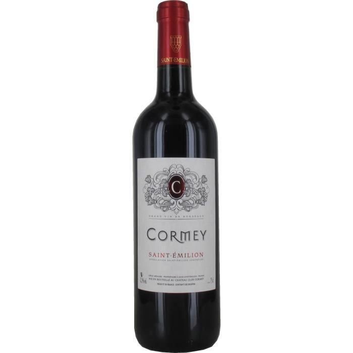 Cormey 2018 Saint Emilion - Vin rouge de Bordeaux