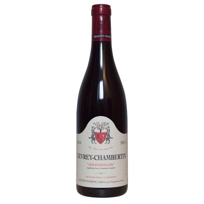 Geantet-Pansiot 2014 Gevrey-Chambertin Les Evocelles - Vin rouge de Bourgogne