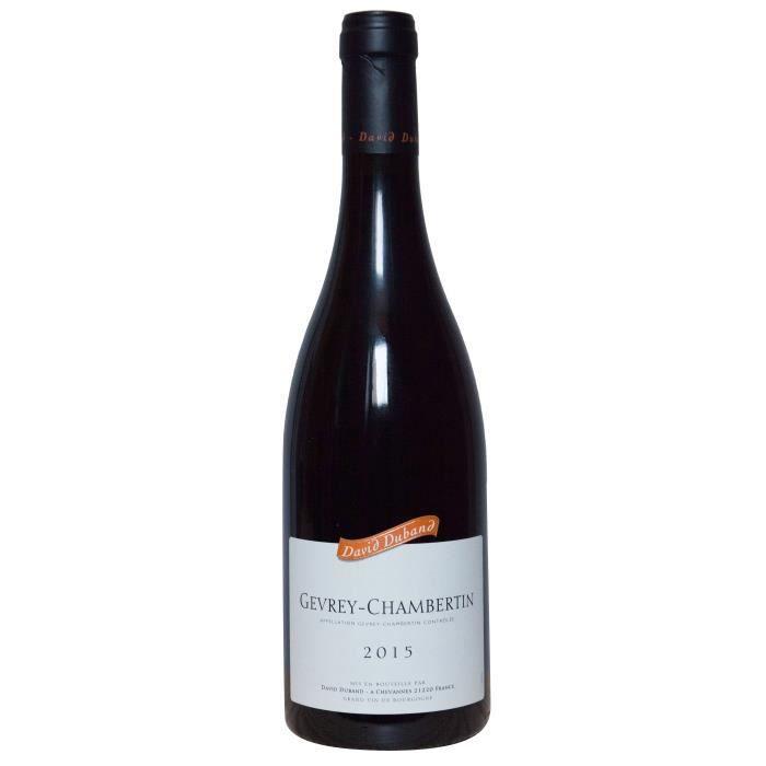David Duband 2015 Gevrey-Chambertin - Vin rouge de Bourgogne