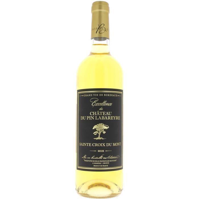 Excellence du Château du Pin Labareyre 2018 Sainte Croix du Mont - Vin blanc de Bordeaux