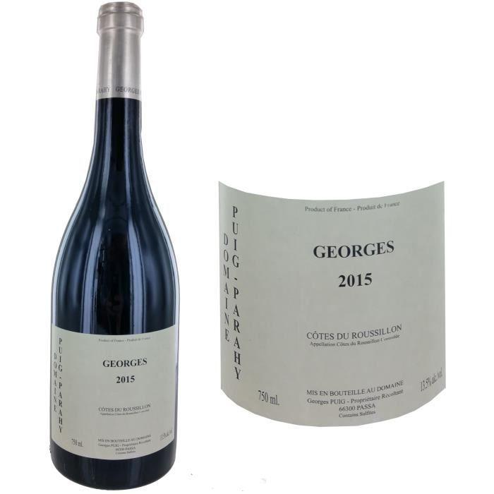 Domaine Puig Parahy 2015 Georges - Vin rouge des Côtes du Roussillon