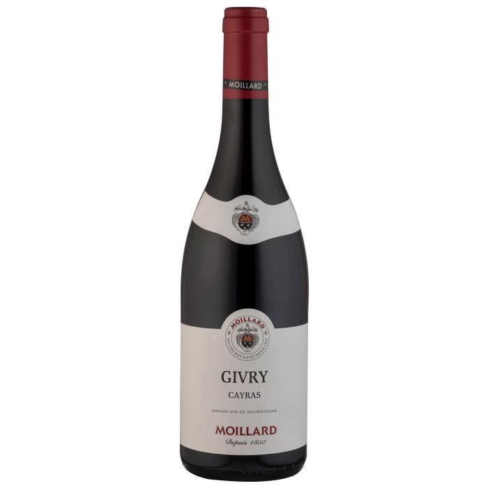 Moillard 2016 Givry - Vin rouge de Bourgogne