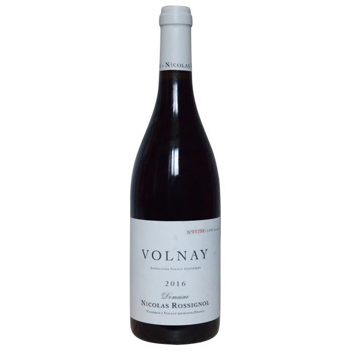 Nicolas Rossignol 2016 Volnay - Vin rouge de Bourgogne
