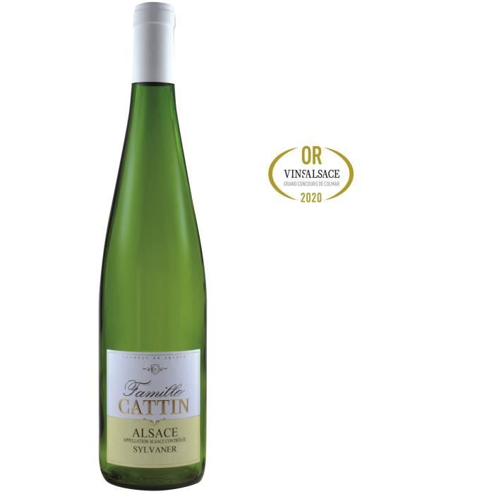 Famille Cattin Sylvaner 2019 Alsace - Vin blanc d'Alsace