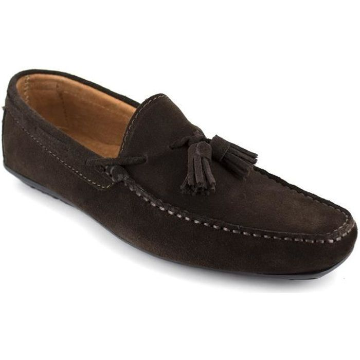 J. BRADFORD Mocassins Nasty - Homme - Marron