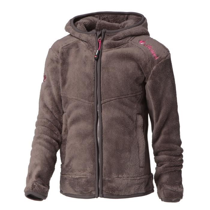 NORTHLAND Veste Polaire Guetty taupe - Fille