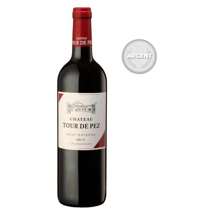 Château Tour de Pez 2012 Saint-Estèphe- Vin rouge de Bordeaux