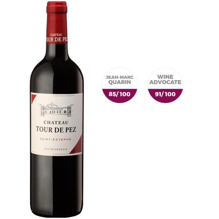Château Tour De Pez 2017 Saint-Estèphe Cru Bourgeois - Vin rouge de Bordeaux