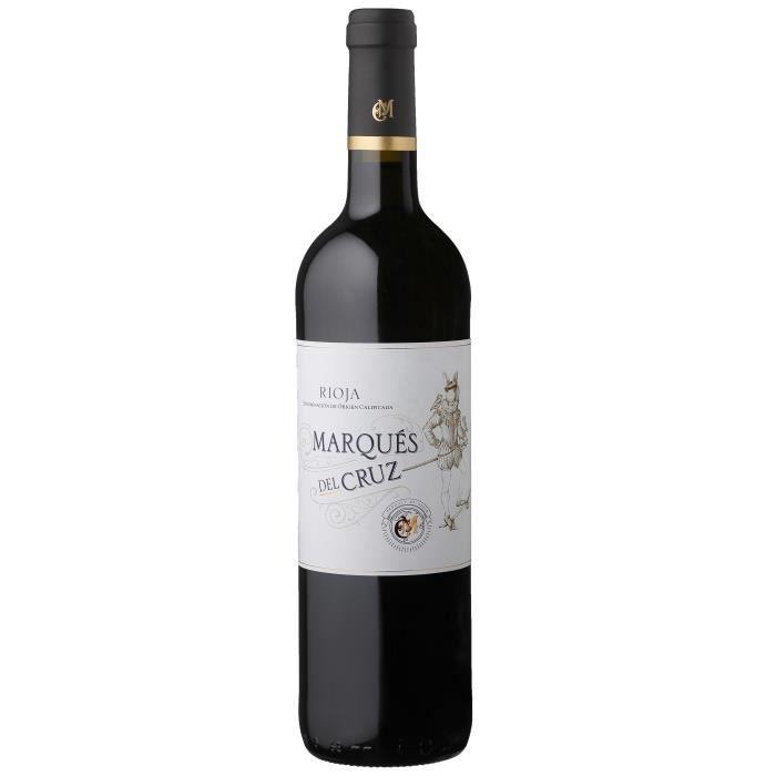 Marqués Del Cruz 2018 Rioja - Vin rouge d'Espagne