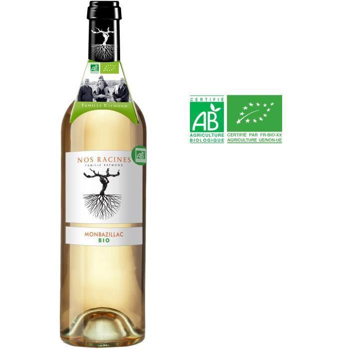 Nos Racines 2018 Monbazillac - Vin blanc du Sud Ouest - Bio