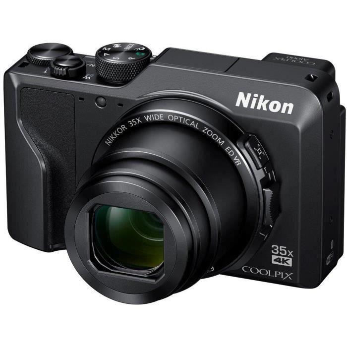 NIKON COOLPIX A1000 Appareil photo compact 16Mp CMOS 35x, 3.0- 1036k Tilt TP, 4k, EVF - Noir