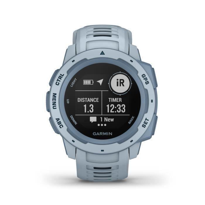 Garmin Instinct®- Montre GPS robuste - Écume